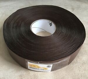 Mighty Line Floor Marking Tape Roll Brown Solid Pvc 100 Feet 2 Inches Wide New