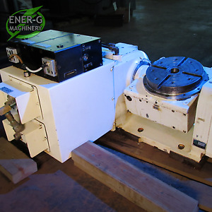 Tsudakoma Haas 10 4th 5th Axis Cnc Rotary Table Model Tnrc 201 Id C 009
