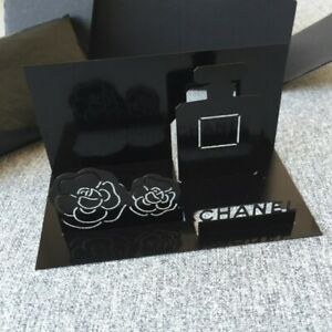 Chanel Beaute Vip Metal Business Card Letter Stand Holder New In Box