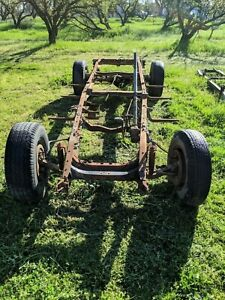 1941 1942 1946 Chevy Pickup Truck 3 4 Ton Frame 8 Lug Heavy Duty Chevrolet