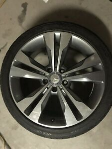 Four Mercedes benz Factory Rims Cla250 With Tires 18inch Tires Are 3 Months Old