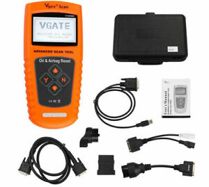Vgate Vs900 Obd2 Diagnostic Reset Tool Oil Service Airbag For Bmw Benz Vw Ford