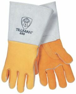 Tillman Welding Gloves Stick 16 1 4 Xl Pr Gold 850xl 1 Each