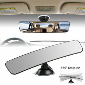 Universal Car Truck Mirror Interior Rear View Mirror Suction Rearview Mirror Us