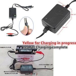 12v Auto Car Motorcycle Atv Smart Compact Battery Charger Tender Maintainer