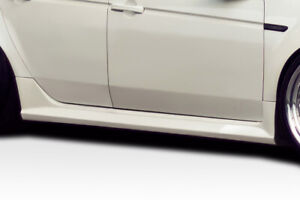 Duraflex Aspec Look Side Skirts 2 Piece For Tl Acura 04 08 Ed_114498