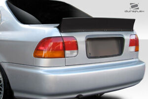 Duraflex 4dr Rbs Wing Spoiler 1 Piece For Civic Honda 96 00 Ed114274