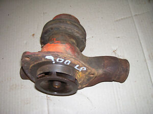 Vintage Ji Case 900 Lp Tractor water Pump Pulley 377 Engine 1959