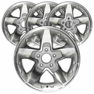 16 Silver Rim By Jte For 2001 2005 Gmc Sonoma 16x8 Set Of 4