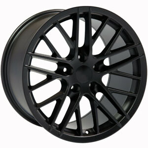 Black Wheel 18 X 9 For 1993 2002 Chevy Camaro Owh3992
