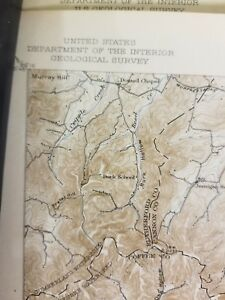 Usgs Topographical Map Hollow Springs Tn Quadrangle Laminated Tn Vg 181218