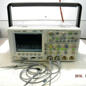 Agilent Hp Dso6034a 300 Mhz 4 Channels 2 Gsa s Digital Analog Oscilloscope