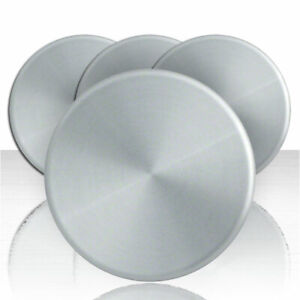 4 Chevy Gmc 16 Smooth Aluminum 6 Lug Wheel Center Hubcaps Hubs Rim Nut Covers