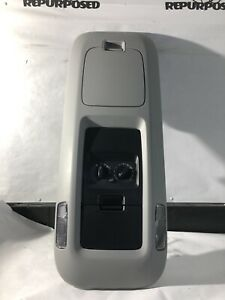 2003 2006 Ford Expedition Overhead Storage Console Rear Climate Control Grey Oem