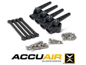 Accuair Ride Height Sensors W Linkage Hardware Air Bag Ride Suspension 4 Pack