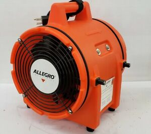 Allegro 9533 Plastic Com pax ial Blower 8 Without Canister 115v Ac 1 3hp