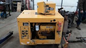 Caterpillar Cat 3208 Power Unit 210hp 347 Hrs Complete With Pto