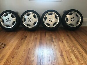 Amg 17 X7 5 Monoblocks With Toyo Tires 225 45 R17 2016 Date Code Set Of 4