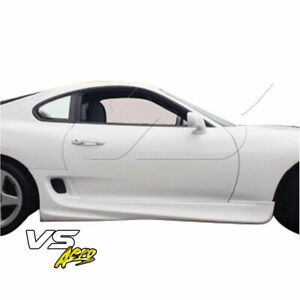 Vsaero Frp Sign Side Skirts For Toyota Supra Jza80 93 98