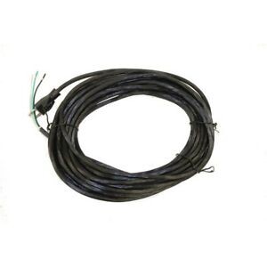 3 Wire Black Power Electric Cord For Nobles Vacuum Floor Machine 50