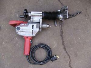 Victaulic Hct 904 Pipe T drill Hole Saw Milwaukee Motor
