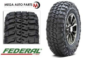 Federal Couragia M T 35x12 50r18 123q 10ply Off Road Terrain Mud Tires