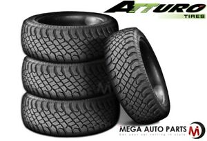 4 Atturo Trail Blade X T Lt35x12 50r18 123q 10p Extreme Off Road A T Tires New