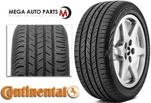 1 New Continental Contiprocontact P215 45r17 87h All Season Performance Tires