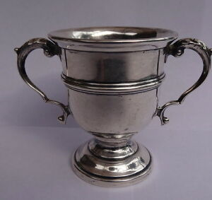 Black Starr Gorham Sterling Silver Small Loving Cup