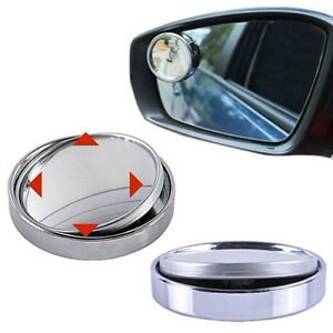 Wide Angle Convex Car Auto Blind Spot Stick On Side View Rearview Mirror Envy