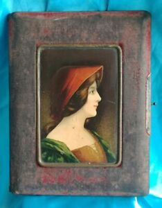Renaissance Fair Victorian Era Picture Frame Family Bible Journal Book Cover