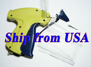 Clothing Garment Price Label Tag Tagging Gun 2 1000 Barbs 1 Extra Needle