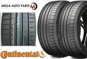 2 New Continental Extremecontact Sport 225 45zr17 91w Tires