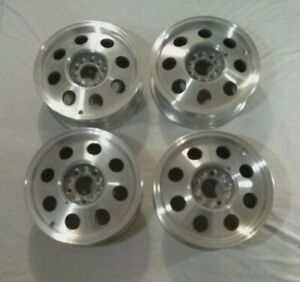 15 X 6 Carroll Shelby Wheel 5 Bolt Pattern Set Of 4