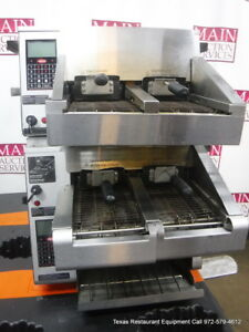 Hatco Itq Electric Double Stack Conveyor Toaster
