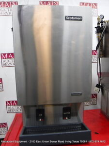 Scotsman Mdt5n40a 1j Touch Free Ice Maker Dispenser Nugget Ice