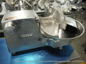 Hobart Buffalo Food Processing Cutter Chopper 84186