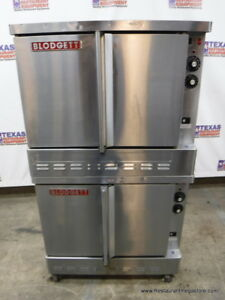 Blodgett Gas Double Deck Full Size Convection Oven Year 2014