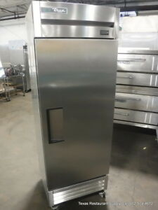 True T 19fzhc Solid Stainless Steel One Door Freezer Year 2017