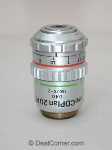 Olympus Microscope Objective Lwd Cd Plan 20x Pl Phase Contrast