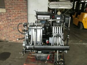 Heidelberg Windmill Come With 3 Numbering Head Serial T 159231e
