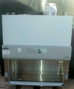 Lot Of 6 Nuaire Nu s435 400 Biological Safety Cabinets Class Ii B2 Four Foot