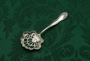 Lancaster By Gorham Bon Bon Nut Or Candy Dish Spoon 4 5 Sterling Silver