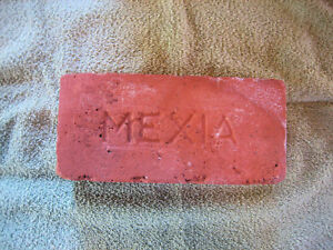 Vintage Mexia Press Brick Company Mexia Texas