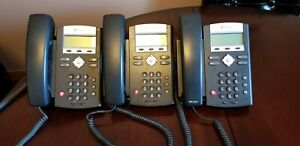 Lot Of 3 Polycom Ip 330 Sip