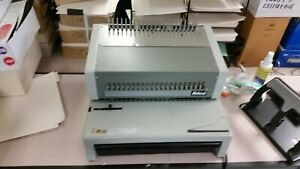 Ibico Epk21 High production Electric Comb Binder W Pedal Lots Binder Supplies