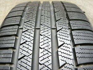 Continental Contiwintercontact Ts810s 225 40r18 92v Used Tire 9 10 32 61776