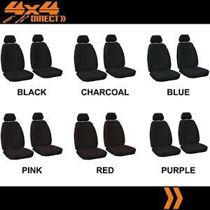 Single Row Custom Neoprene Seat Covers For Ford Falcon Ute 05 08 A