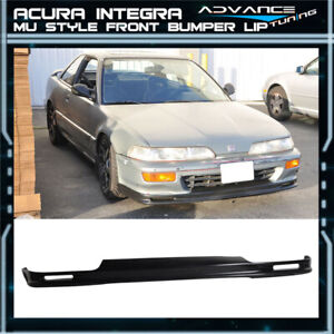 For 92 93 Acura Integra Mug Style Pu Poly Urethane Front Bumper Lip Spoiler