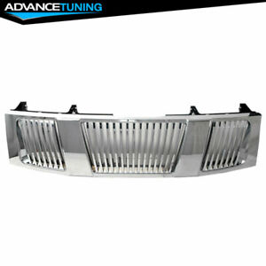 Fit For 04 07 Nissan Titan 05 07 Nissan Armada Chrome Vertical Grille New
